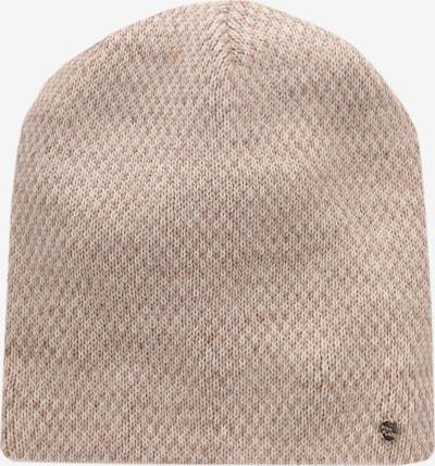 Finn Flare Mütze im zweifarbigen Strick-Design in beige, Produktansicht