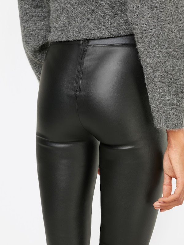 Leggings Bardot corbeau