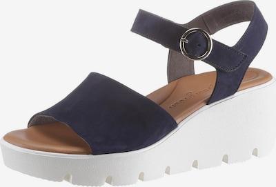 Paul Green Sandalette in nachtblau, Produktansicht