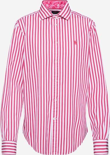 POLO RALPH LAUREN Bluse 'EST GEORGIA' in pink / weiß, Produktansicht