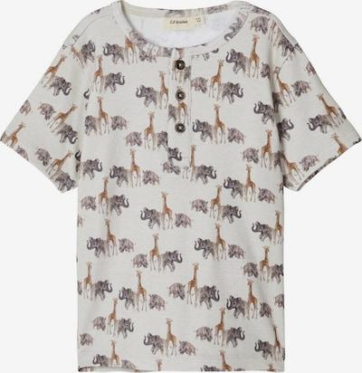 NAME IT Shirt in beige / braun / schwarz, Produktansicht