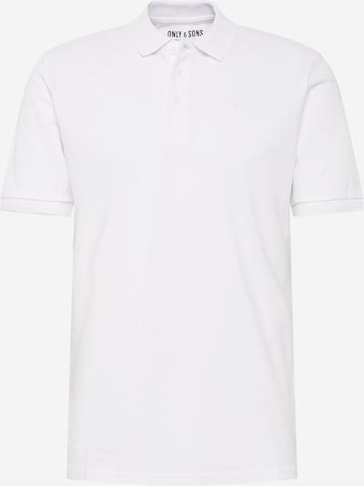 Only & Sons Camiseta 'onsSCOTT' en blanco, Vista del producto