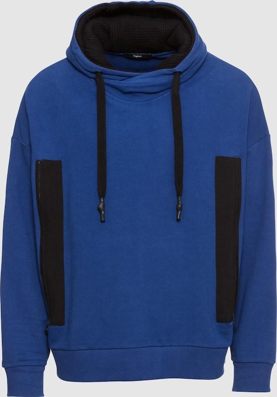 Tigha Hoodie 'Docen' in blau   schwarz  Mode neue Kleidung