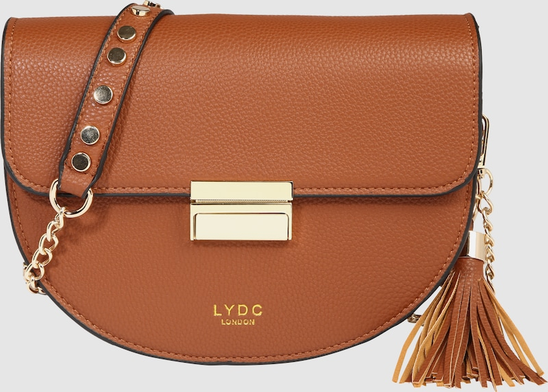 LYDC London Umhängetasche im Satteltaschen-Look