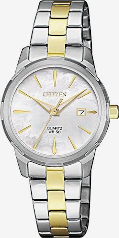 CITIZEN Quarzuhr 'EU6074-51D' in Silber