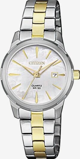 CITIZEN Quarzuhr 'EU6074-51D' in gold / silber, Produktansicht