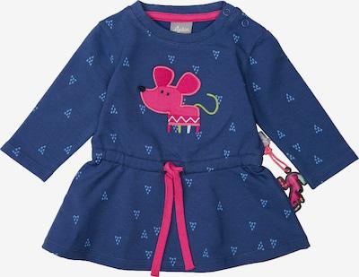SIGIKID Sweatkleid in navy / royalblau / pink, Produktansicht