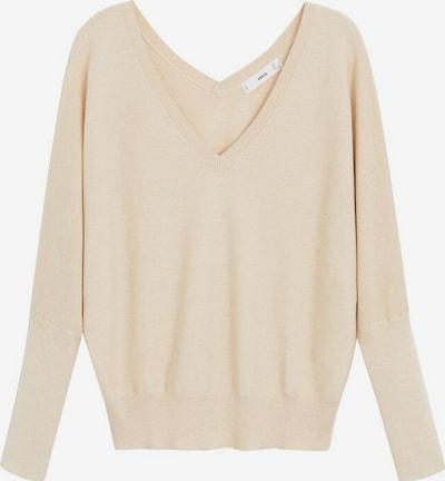 MANGO Pullover 'Milano' in beige, Produktansicht