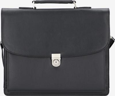 Alassio Aktentasche 'Forte' in schwarz, Produktansicht