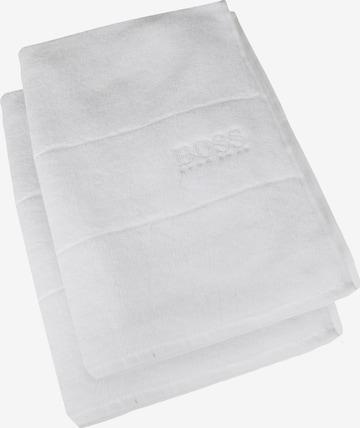 BOSS Home Towel 'Plain' in White