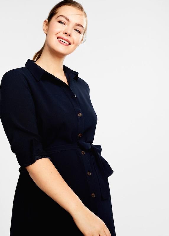 lilaA by Mango Kleid 'Placket4' in nachtblau  Markenkleidung Markenkleidung Markenkleidung für Männer und Frauen abfa76