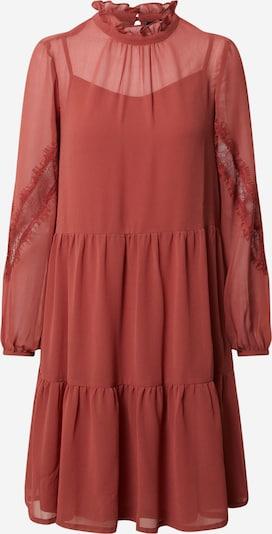 Vero Moda Petite Jurk 'VMINGEBORG LS SHORT DRESS  WVN PETITE' in de kleur Roestbruin / Sinaasappel, Productweergave