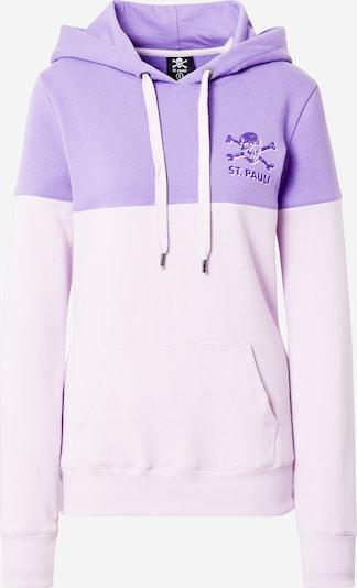 FC St. Pauli Sportief sweatshirt 'Leila' in de kleur Lila / Pastellila, Productweergave