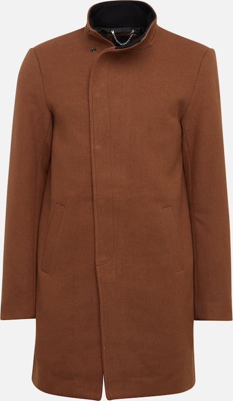 Only & Sons Mantel 'OSCAR WOOL COAT' in braun, Produktansicht