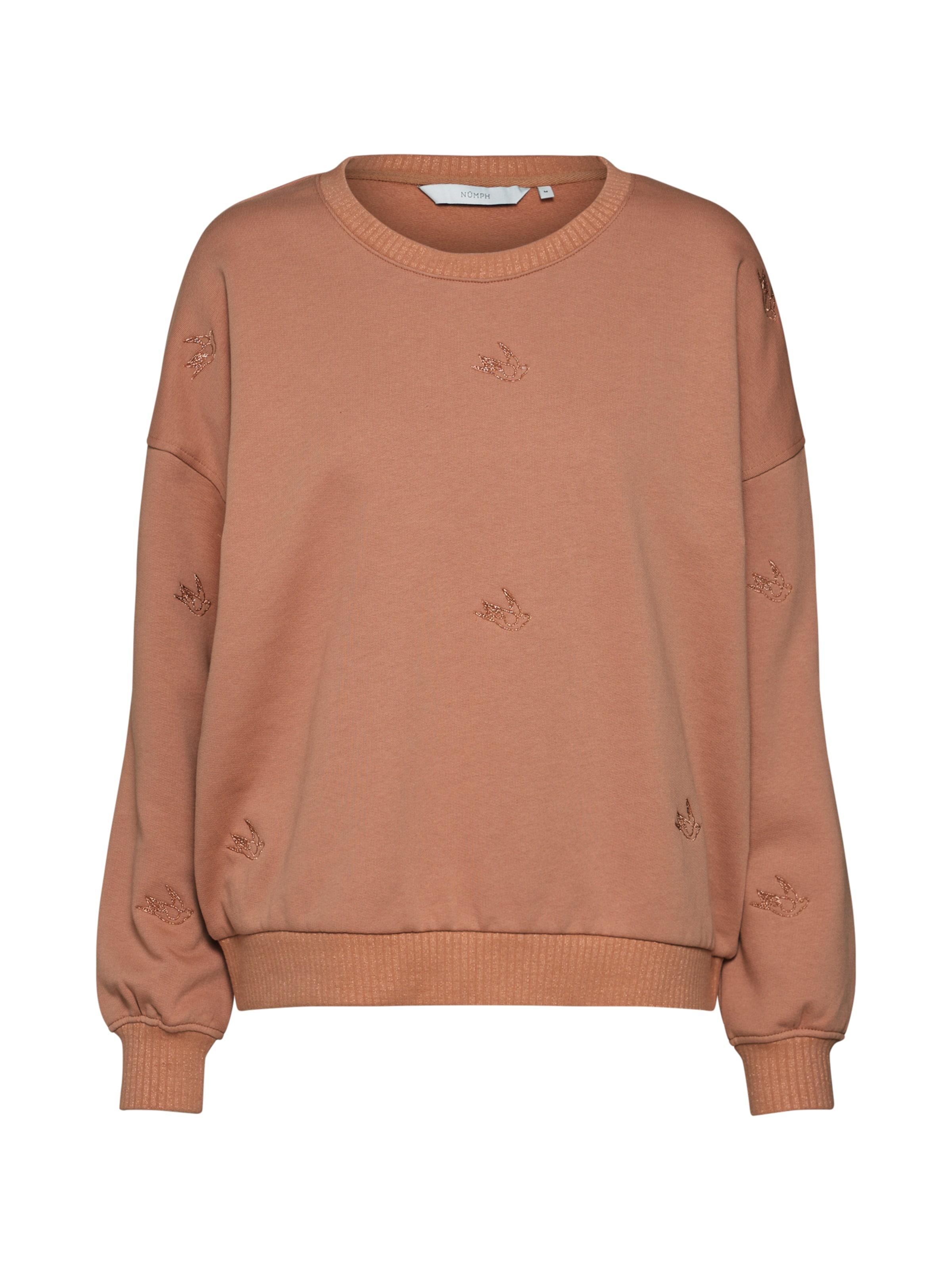 Sweatshirt In Chamois In 'kaimana' Sweatshirt Nümph Nümph 'kaimana' TcF1lKJ