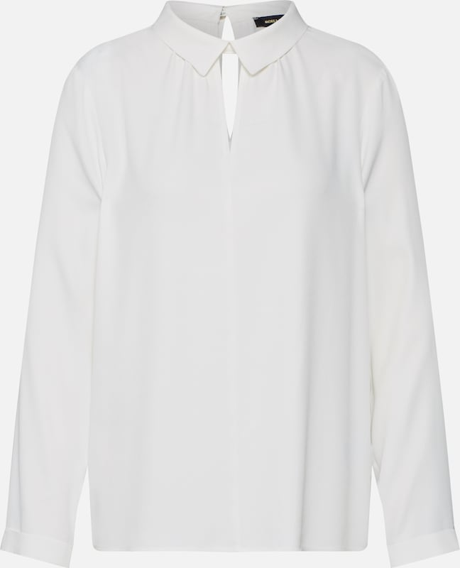 MORE & MORE Blusenshirt in offwhite, Produktansicht