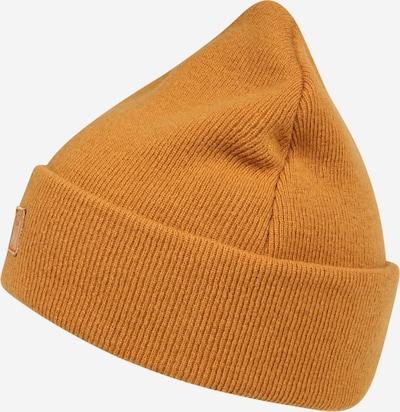 KnowledgeCotton Apparel Bonnet en cognac, Vue avec produit