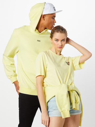 PARI Sweatshirt 'Rana' in de kleur Geel: Vooraanzicht