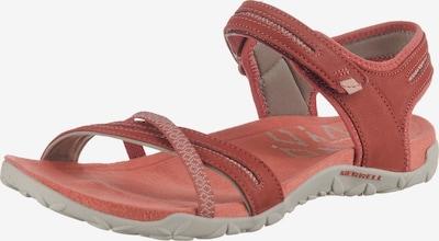 MERRELL Sandale in orange / weinrot, Produktansicht