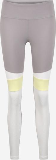 Pantaloni sport REEBOK pe gri deschis, Vizualizare produs