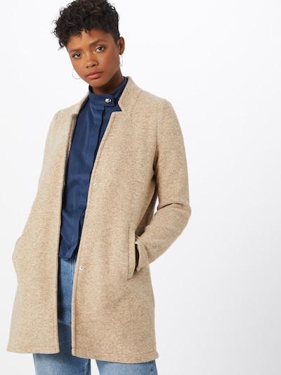 Palton de primăvară-toamnă 'Katrine' VERO MODA pe bej / alb, Vizualizare model