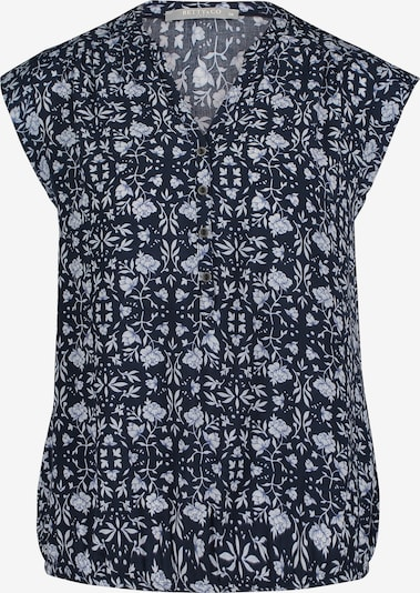Betty & Co Blouse in de kleur Blauw / Wit, Productweergave