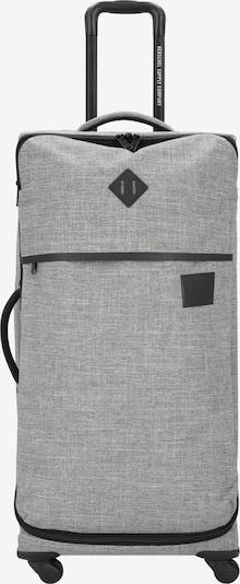 Herschel Valisette 'Highland' en gris clair / gris foncé, Vue avec produit