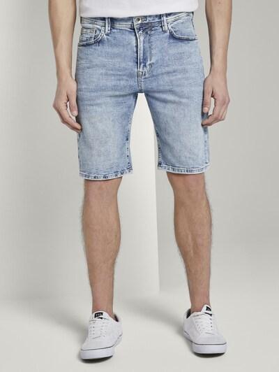 TOM TAILOR DENIM Jeanshosen Loose Fit Jeansshort in 90er Waschung in blau: Frontalansicht