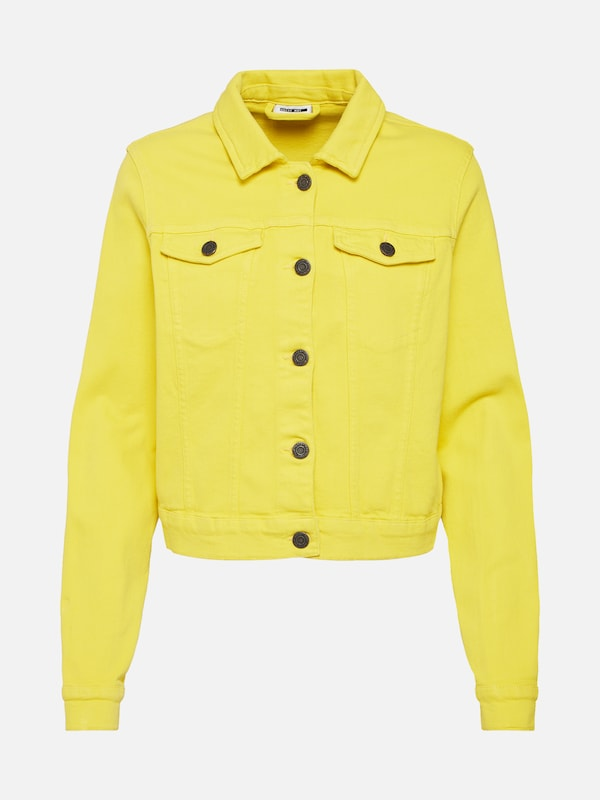 May Noisy Denim Color Mi Jaune saison Jacket' En Ls 'nmdora Veste F4qdwr4
