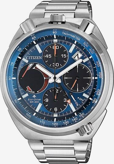 CITIZEN Uhr in blau / silber, Produktansicht