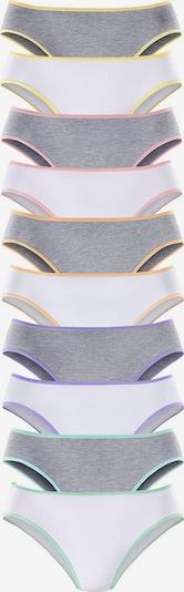 GO IN Bikinislip (10 Stck.) in grau / weiß, Produktansicht