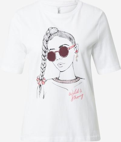 ONLY Majica 'Violet' u bijela, Pregled proizvoda
