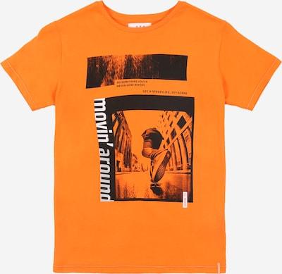 STACCATO Tričko - tmavě oranžová / černá / bílá: Pohled zepředu