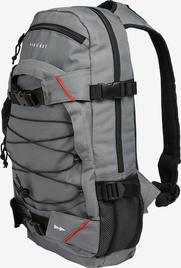 Forvert Daypack in grau / rot / schwarz, Produktansicht