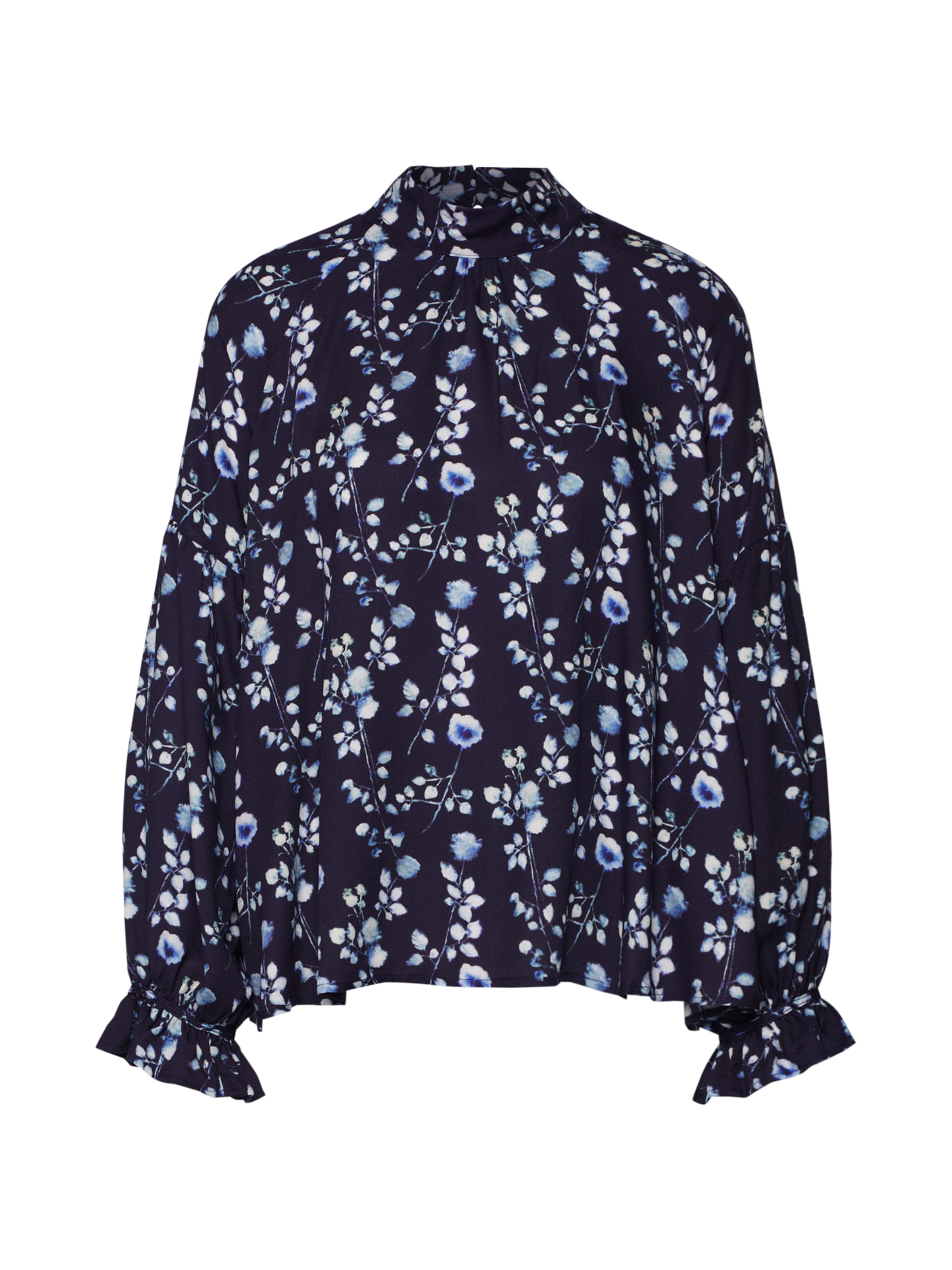 Blouse' 'printed Mavi In Blau Bluse oCxerWdB