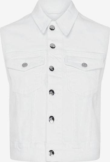 Calvin Klein Fitted Denim Vest ' ' in weiß, Produktansicht