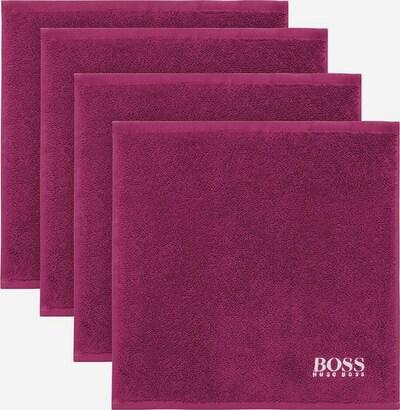 BOSS Home Waschlappen Plain in pink, Produktansicht