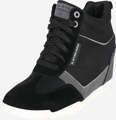G-Star RAW Sneaker 'Boxxa Wedge' in schwarz / weiß, Produktansicht