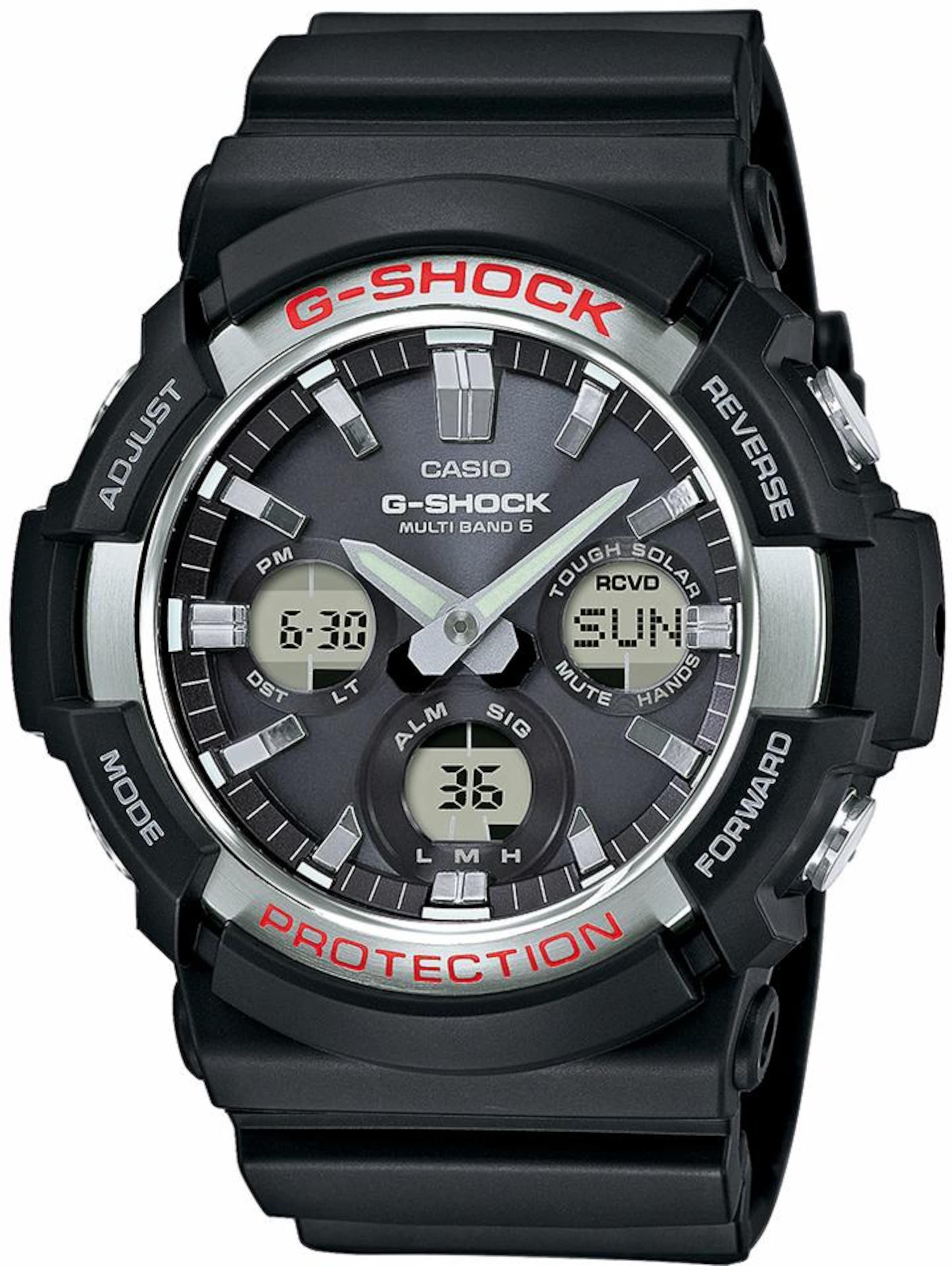 CASIO 'G-Shock' Funkchronograph 'GAW-100-1AER' Auslassstellen Verkauf Online jYyIp