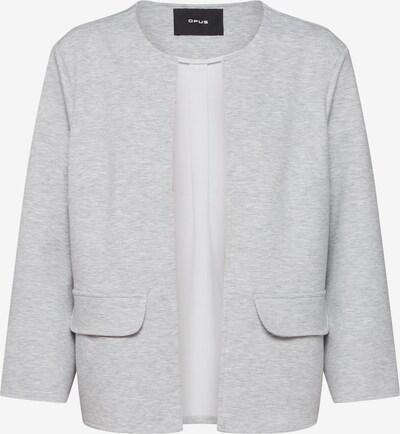 Blazer švarkas iš OPUS , spalva - šviesiai pilka / margai pilka, Prekių apžvalga