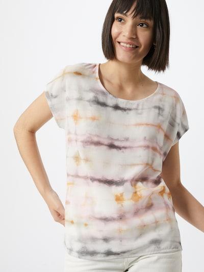 Cartoon Shirt in de kleur Crème / Kaki / Gemengde kleuren: Vooraanzicht