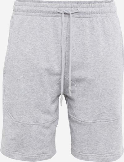 Urban Classics Sweatpants 'Terry Shorts' in grau: Frontalansicht