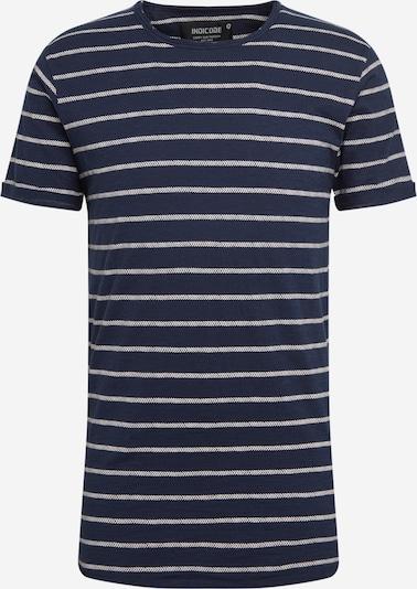 INDICODE JEANS Tričko 'Dunkerque' - námořnická modř / šedá, Produkt