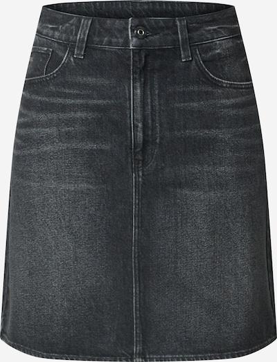 G-Star RAW Jupe '3301' en noir denim, Vue avec produit