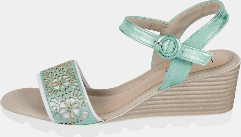 heine Sandalette mit Cut-Out-Dessin