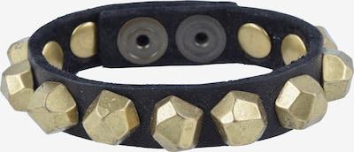 Campomaggi Armband in hellgelb / schwarz, Produktansicht