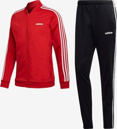 ADIDAS PERFORMANCE Trainingsanzug in rot / schwarz, Produktansicht