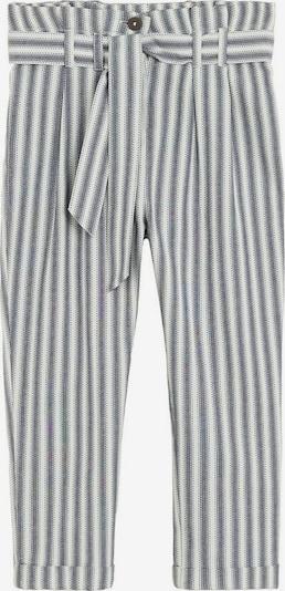 MANGO KIDS Hose in grau / weiß, Produktansicht