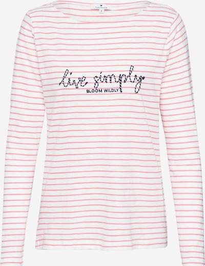 TOM TAILOR Shirt in beige / rosa, Produktansicht