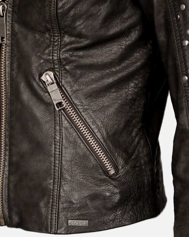 Maze Lederjacke Lederjacke Lederjacke 'Titana' in schwarz  Neuer Aktionsrabatt 502a93